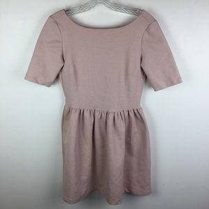 ZARA Pink Babydoll Dress